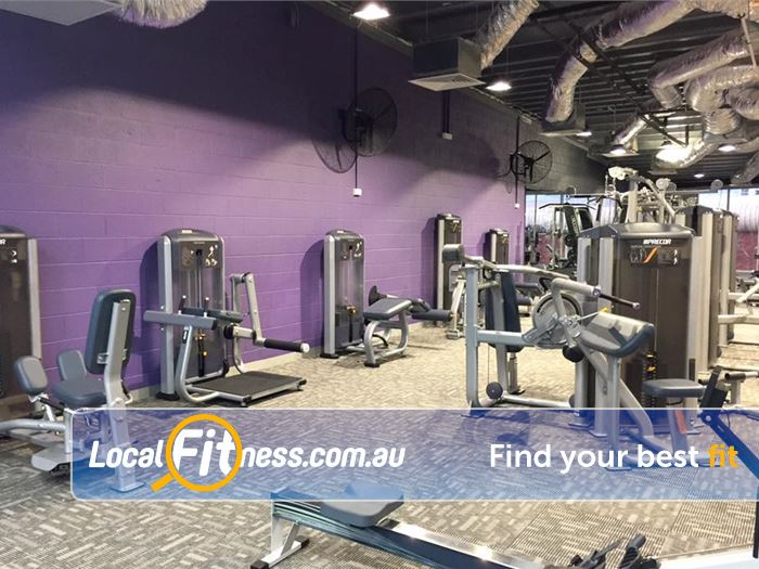 Anytime Fitness Gym Wantirna  | Welcome to our multi-level Glen Waverley gym.