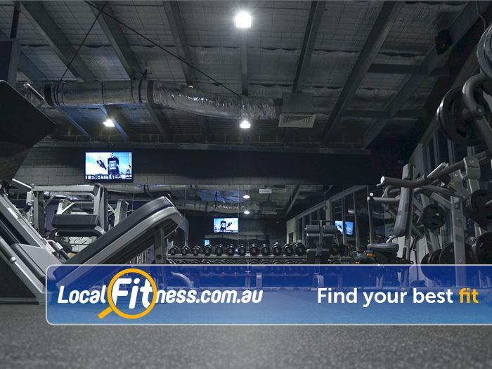 Anytime Fitness Gym Clayton  | The fully equipped and spacious 24 hour gym