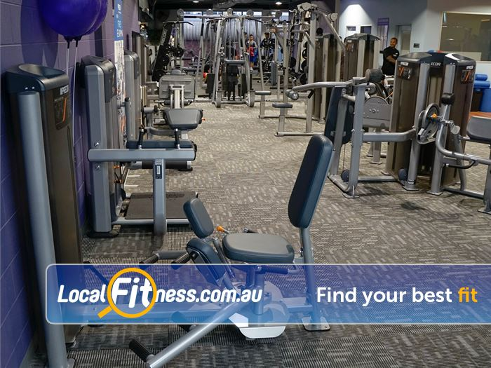 Anytime Fitness Glen Waverley Our huge selection of Precor easy to use pin-loading machines.