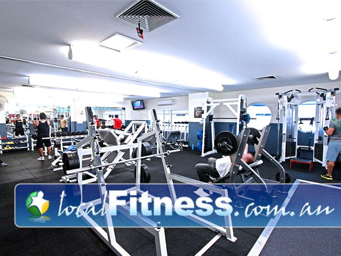 Dandenong Oasis Near Doveton Our Dandenong gym includes heavy duty plate-loading machines and racks.
