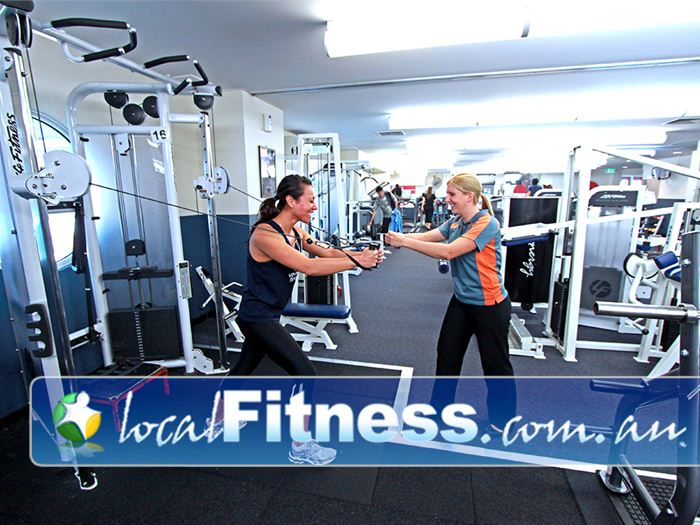 Dandenong Oasis Near Eumemmerring Dandenong gym instructors are there to help you with all your training.