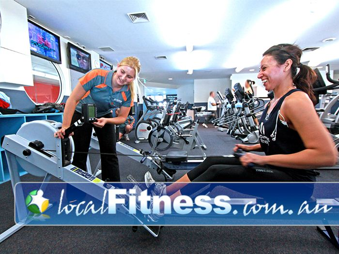 Dandenong Oasis Dandenong Vary your workout with indoor rowing.