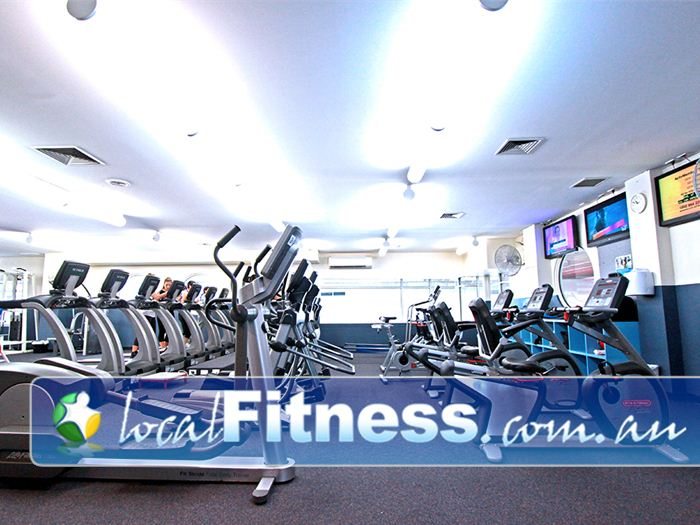 Dandenong Oasis Dandenong Tune into your favourite shows while you train.