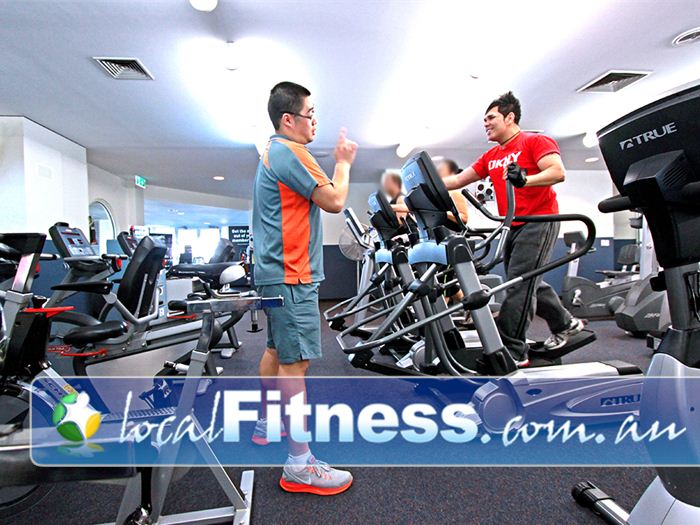 Dandenong Oasis Near Doveton Dandenong gym instructors can tailor a cardio program to suit you.