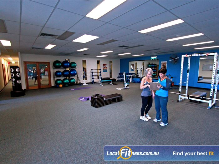 Fernwood Fitness Gym Blacktown  | The spacious level 2 Blacktown personal training studio.