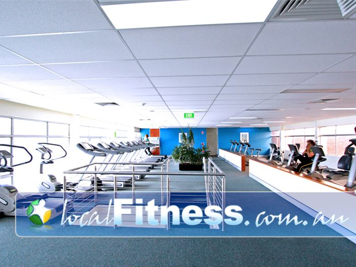 Fernwood Fitness Green Square Alexandria A HUGE range of cardio in our level 2 cardio area.