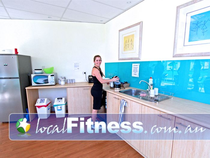 Fernwood Fitness Green Square Alexandria First-class service with complimentary breakfast, tea and coffee.