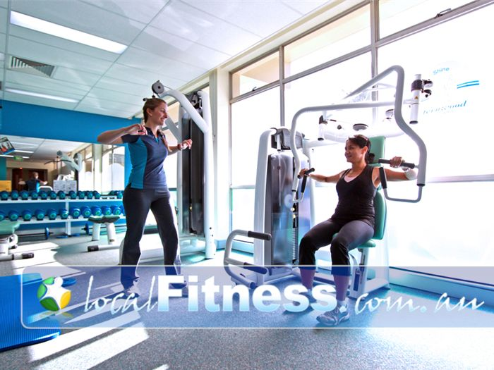 Fernwood Fitness Green Square Alexandria We have the right Alexandria gym equipment to help with women's weight loss and strength.