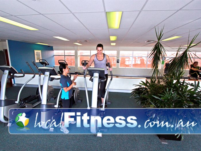 Fernwood Fitness Green Square Near Eveleigh Fernwood Green Square Alexandria gym instructors can help you with cardio and weight management.