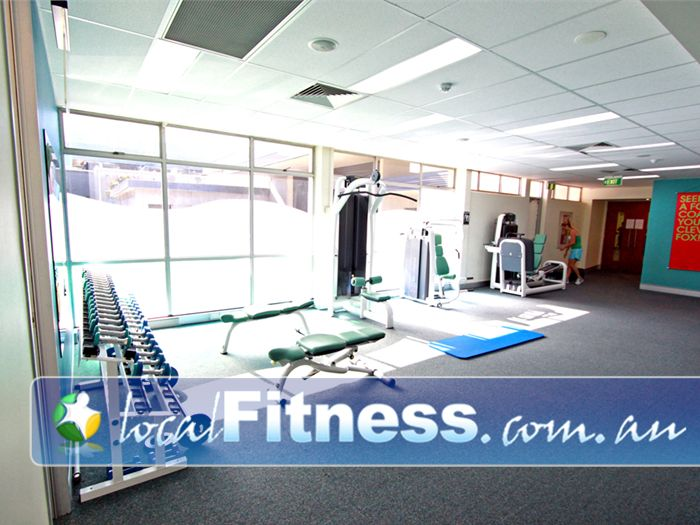 Fernwood Fitness Green Square Alexandria We provide the right fitness and weights to help women lose weight.