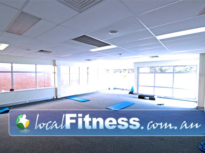 Fernwood Fitness Green Square Alexandria Our Alexandria gym includes a dedicated stretching room.