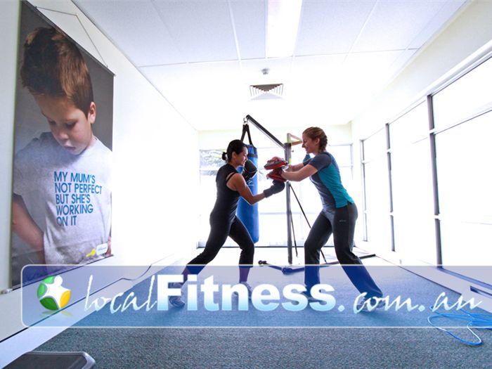 Fernwood Fitness Green Square Alexandria Alexandria personal trainers can incorporate cardio boxing into your training.