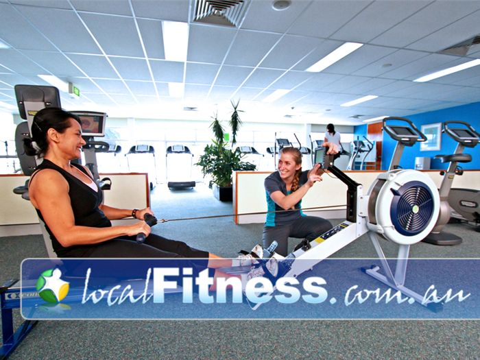 Fernwood Fitness Green Square Near Eveleigh Alexandria personal trainers will help you enjoy fitness cardio training.