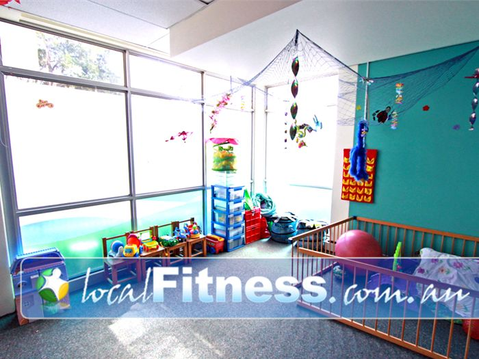 Fernwood Fitness Green Square Alexandria Conveniently located on-site child-care at Fernwood Green Square gym.