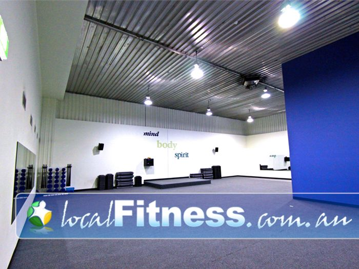 Fernwood Fitness Green Square Alexandria Our spacious Rosebery group fitness studio.