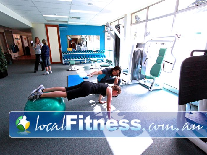 Fernwood Fitness Green Square Near Beaconsfield Alexandria gym instructors can help you progress with your fitness training.