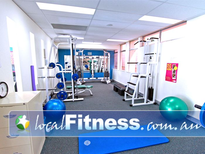 Fernwood Fitness Green Square Alexandria Fully equipped Alexandria personal training studio.
