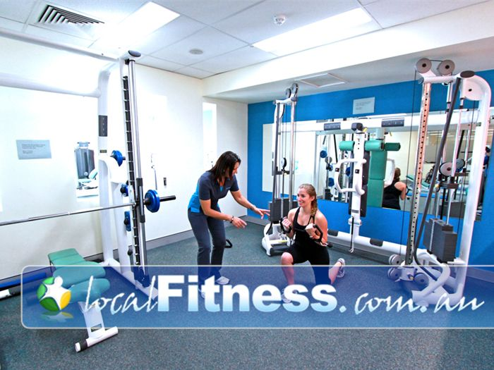 Fernwood Fitness Green Square Alexandria An uninterrupted environment for your Alexandria personal training sessions.