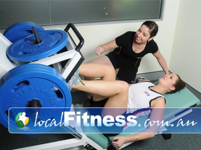 Fernwood Fitness Green Square Near Beaconsfield Our Alexandria gym provides a fully equipped strength training setup.