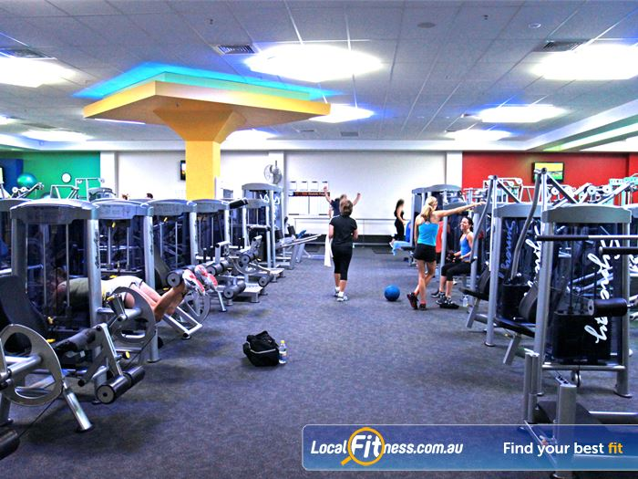 Goodlife Health Clubs Gym Bentley  | Our spacious Cannington gym is located at Westfield