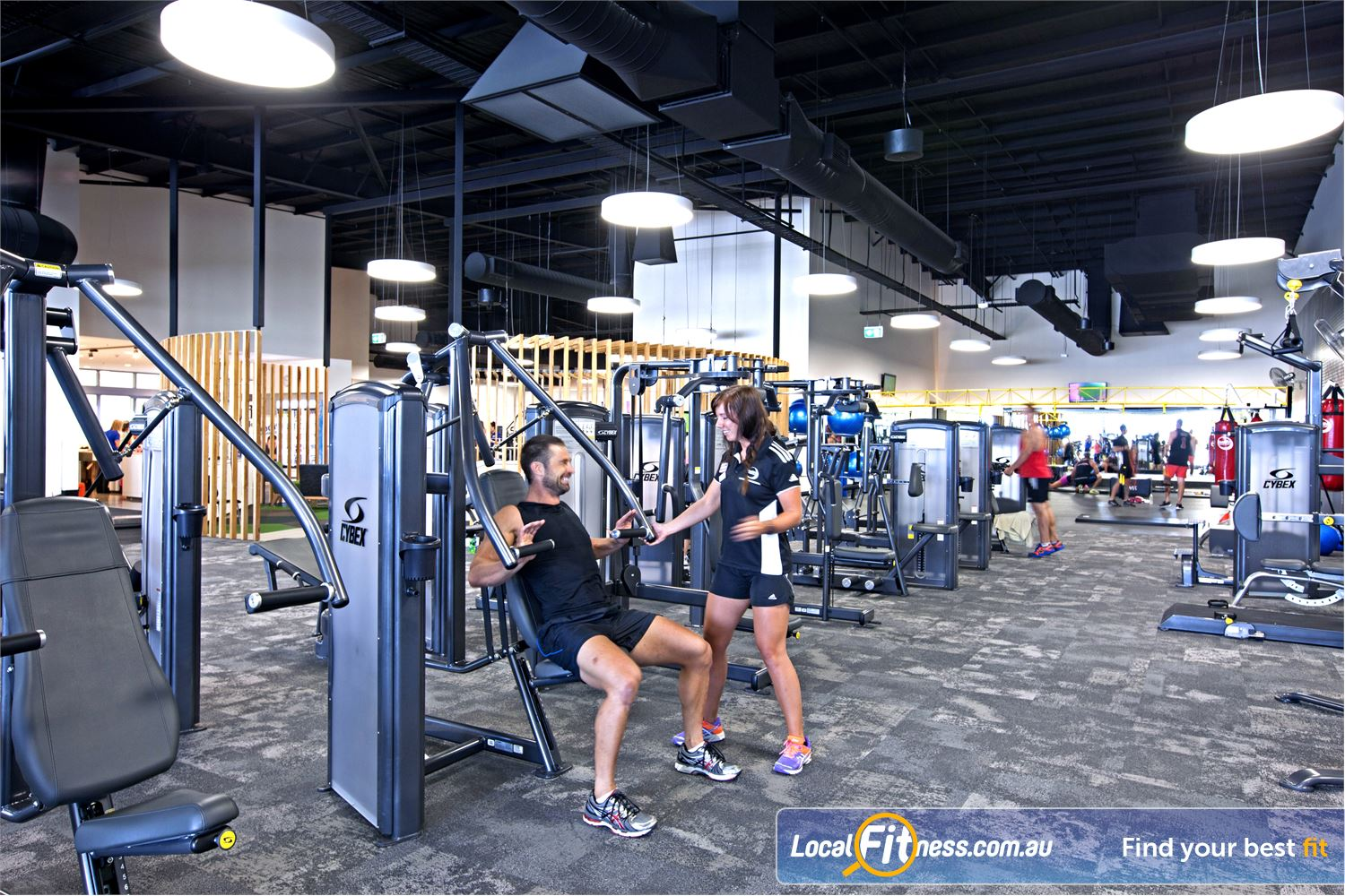 Goodlife Health Clubs Maroochydore Our team of Maroochydore gym instructors can help monitor your strength training.