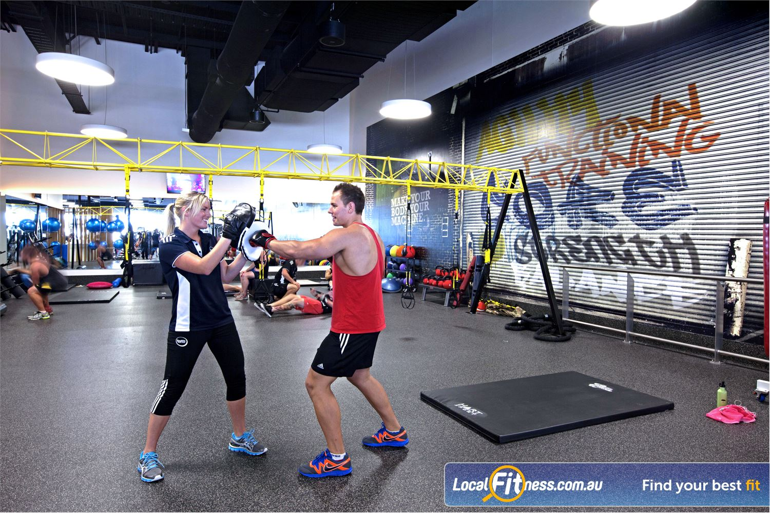 Goodlife Health Clubs Near Alexandra Headland Get into boxing and functional training at Goodlife Maroochydore.