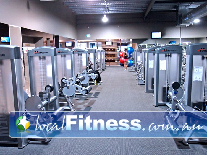 Genesis Fitness Clubs Noarlunga Centre A spacious and modern Noarlunga gym environment.