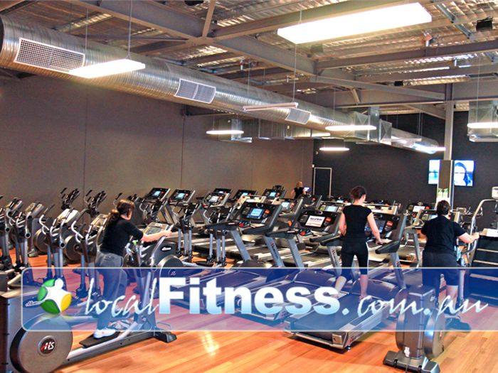 Genesis Fitness Clubs Near Seaford Our Noarlunga gym has rows of machines so you'll never have to wait.