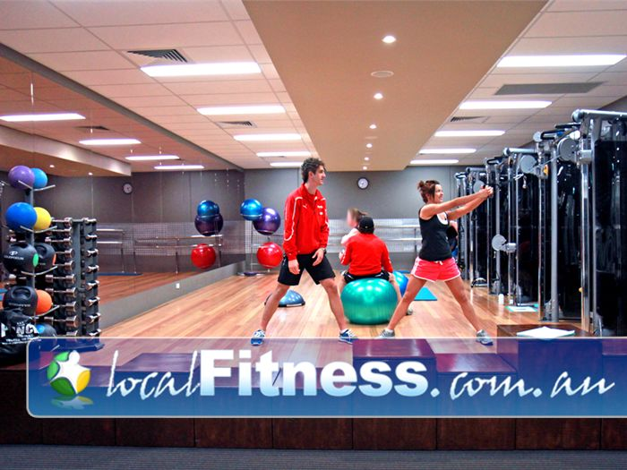 Genesis Fitness Clubs Near Seaford Meadows The spacious and dedicated Noarlunga personal training zone.