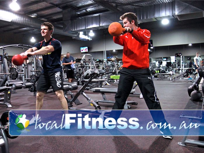 Genesis Fitness Clubs Near Seaford Our Noarlunga gym staff can incorporate kettlebells into your training.