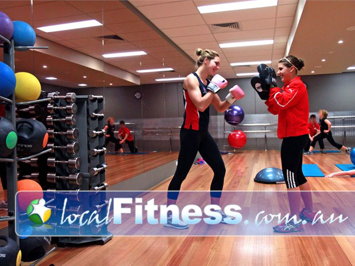 Genesis Fitness Clubs Noarlunga Centre Enjoy cardio boxing at Genesis Noarlunga gym.