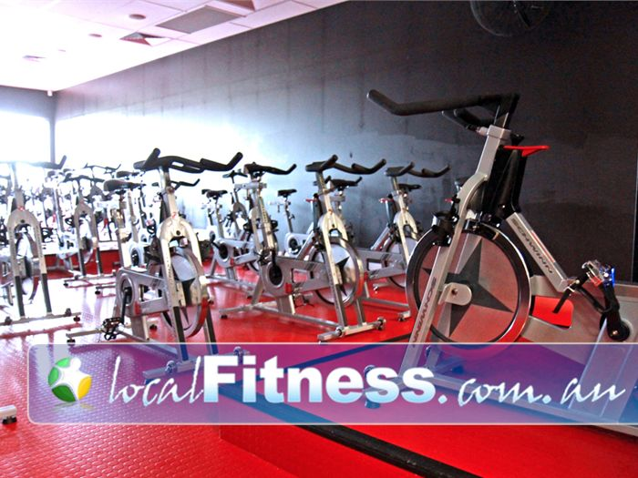 Genesis Fitness Clubs Near Seaford Heights The state of the art Genesis Noarlunga cycle studio.