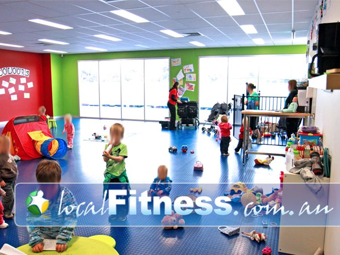 Genesis Fitness Clubs Noarlunga Centre FREE convenient Noarlunga Child Minding Kidz Zone.