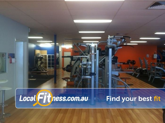 Plus Fitness 24/7 Near Yangebup Our South Lake gym includes a full range of easy to use pin-loading machines.
