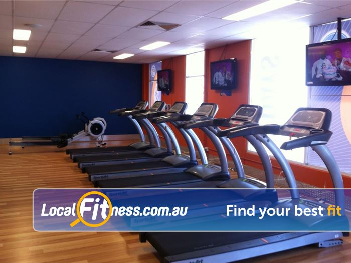 Plus Fitness 24/7 South Lake Enjoy your favorite shows while you train.
