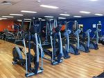 Plus Fitness 24/7 Yangebup Gym Fitness Rows of cardio machines so you