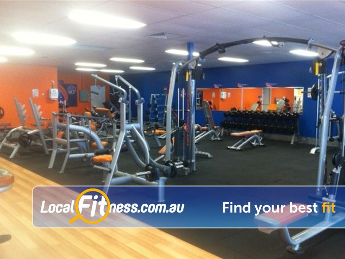 Plus Fitness 24/7 Near Success Full range of dumbbells, barbells and benches.