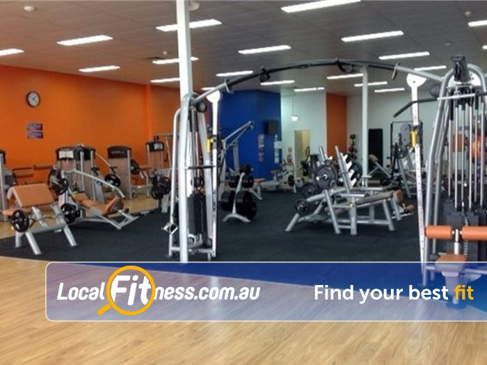 Plus Fitness 24/7 Carseldine Gym Zillmere  | The spacious Bald Hills gym.