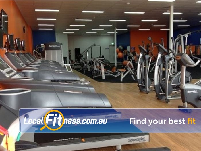 Plus Fitness 24/7 Carseldine Near Lawnton Treadmills, cycle bikes, cross trainers and more.