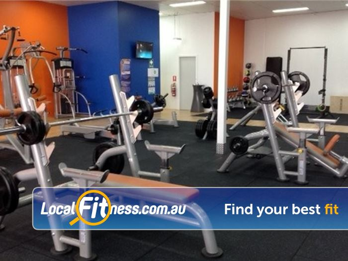 Plus Fitness 24/7 Carseldine Bald Hills Dumbbells, barbells, benches and more.