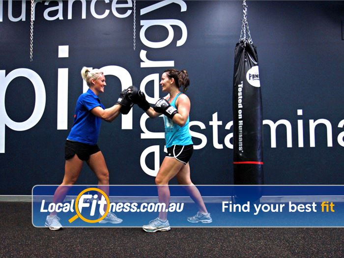 Goodlife Health Clubs Brookfield Place Perth Our Perth personal trainers can take you through a cardio boxing workout.