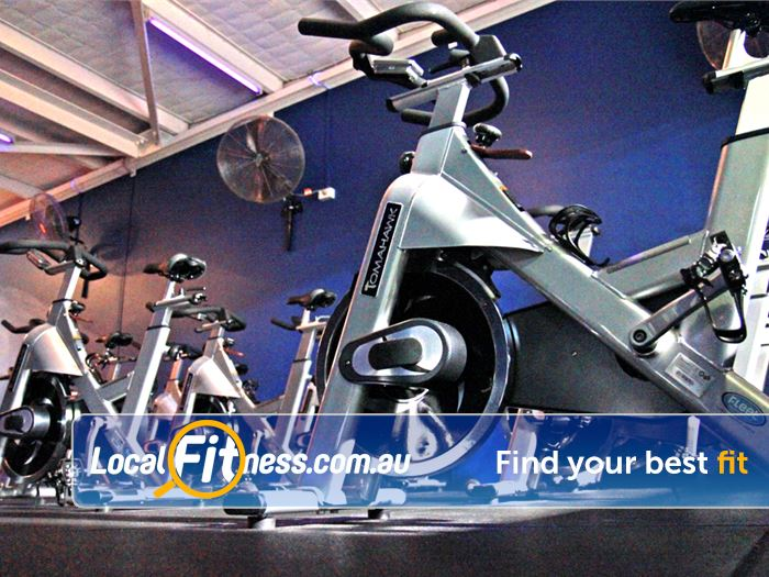 Goodlife Health Clubs Brookfield Place Perth Burn carlories with our RPM Perth spin cycle classes.