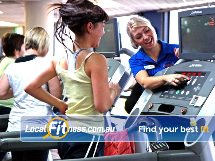 Goodlife Health Clubs Brookfield Place Perth Goodlife Perth gym staff are always on had to help you with your cardio training.