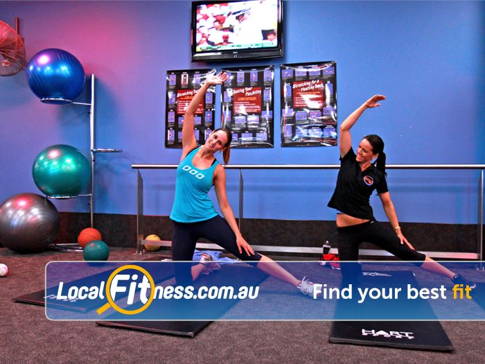 Goodlife Health Clubs Brookfield Place Perth Unwind in our stretching area.