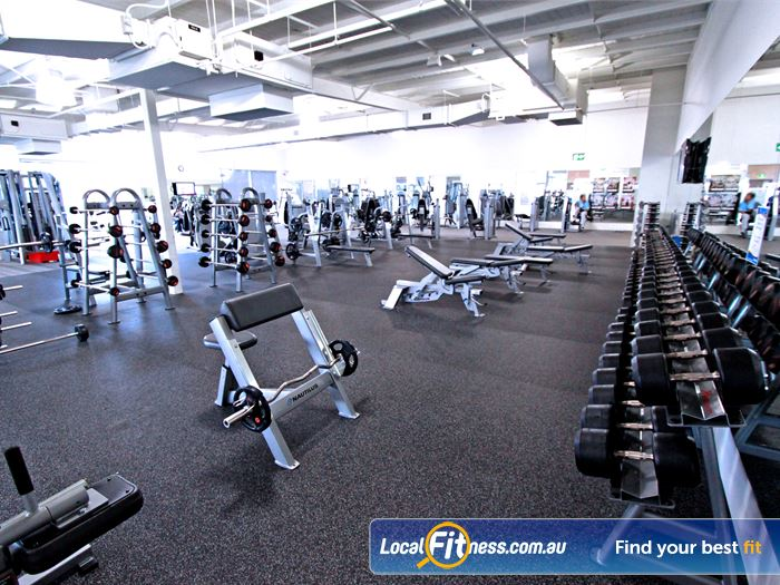 Genesis Fitness Clubs Gym Heidelberg  | Our Bundoora gym provides a fully equipped free-weights