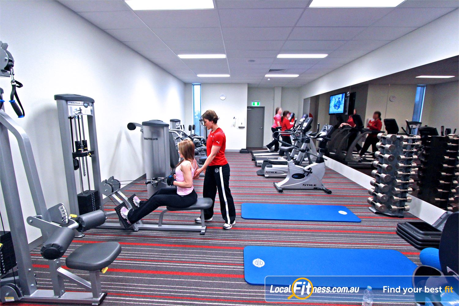 Genesis Fitness Clubs Near Watsonia North A spacious and fully equipped Bundoora ladies only gym.