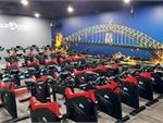 The dedicated Sydney cycle studio provides inspiration from