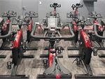 World Gym World Square Gym Fitness State of the art Body Bikes in