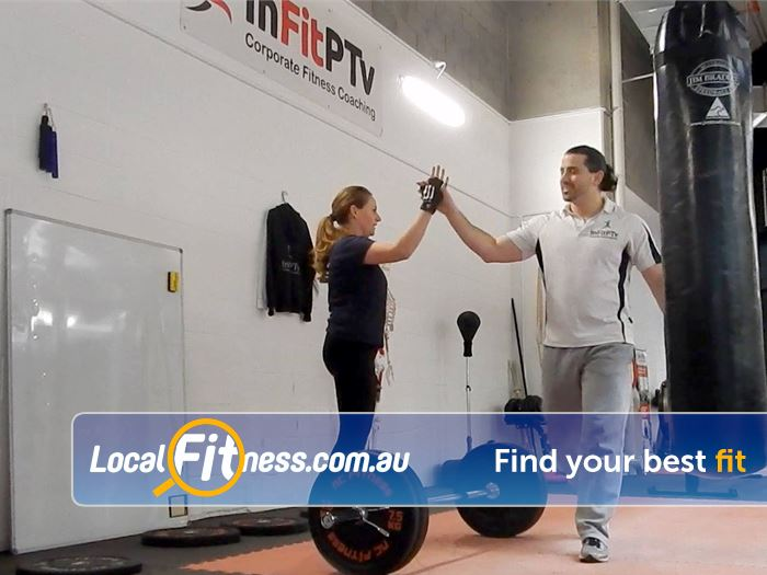 InFitPTv Gym Carlton North  | Our Docklands personal trainers will motivate you every