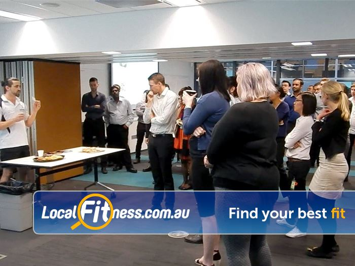 InFitPTv Gym South Melbourne  | We provide Dockland corporate health and fitness services